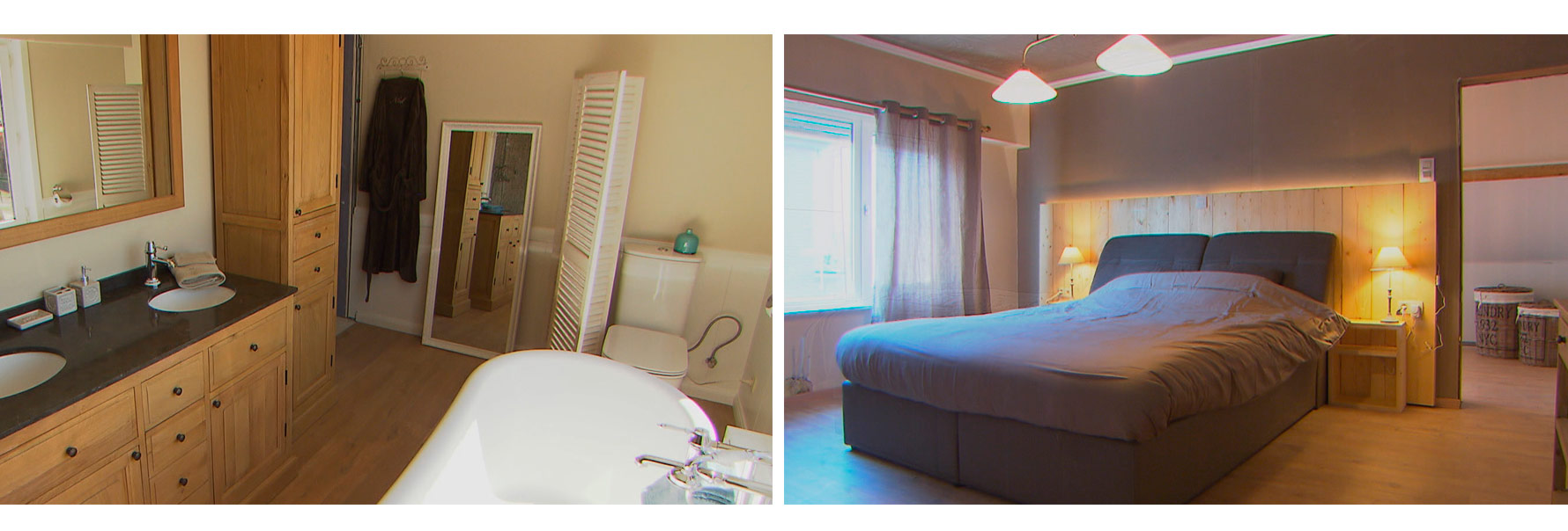 badkamer slaapkamer rousseau