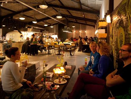 Uit je eigen stad restaurant Rotterdam