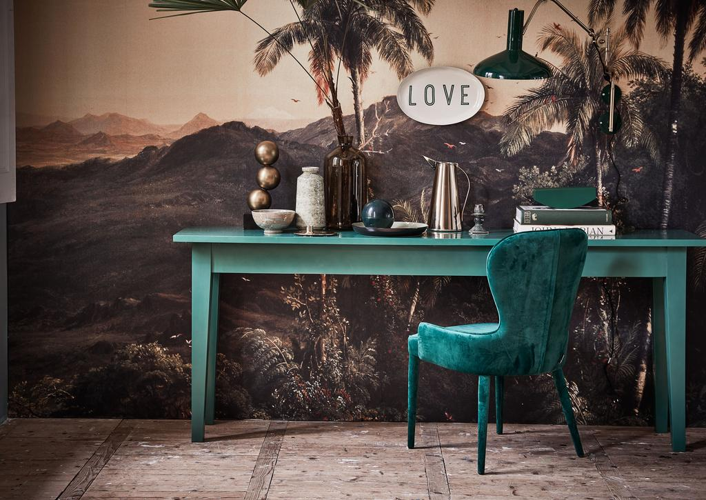 loveyourhome groen interieur velvet en palmbomen