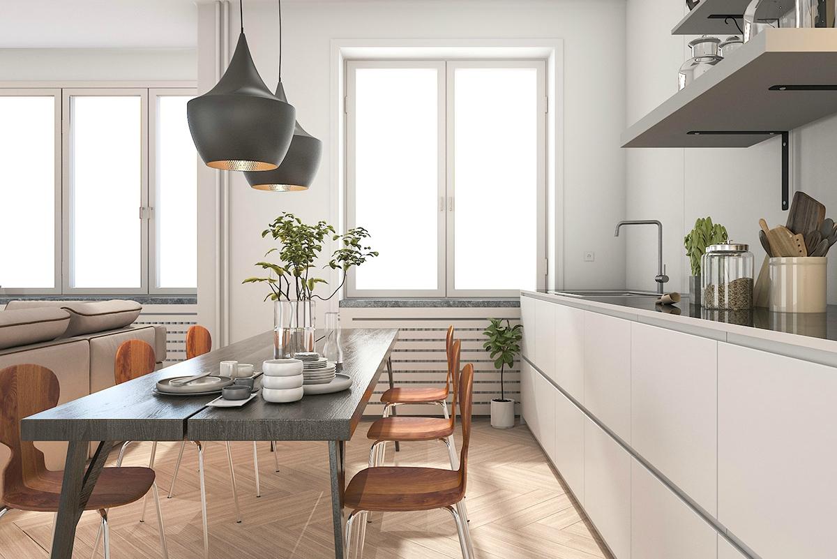 Basic keuken lichte kleuren