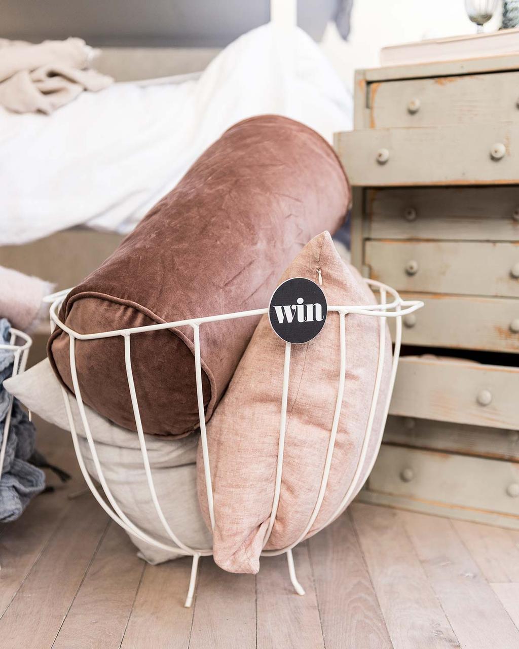 Slaapkamer in het vtwonen huis: win een witte draadmand van k'willeminhuis