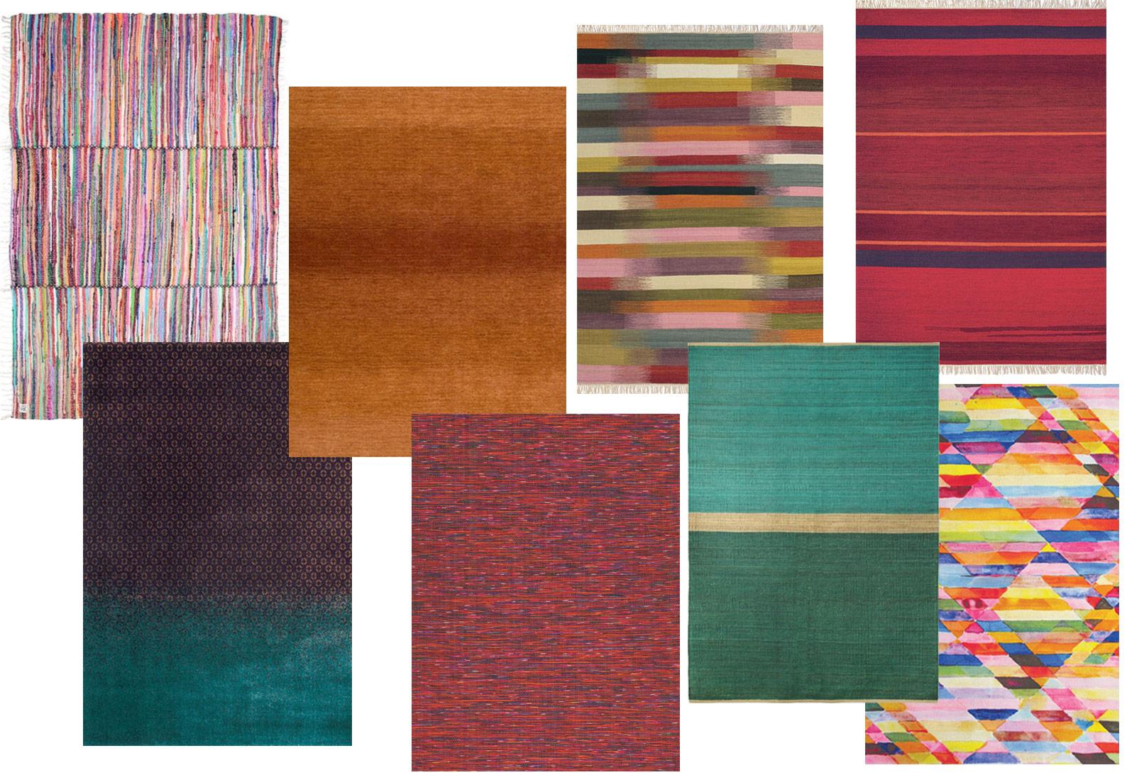 FW shopping tapijten kleurrijk