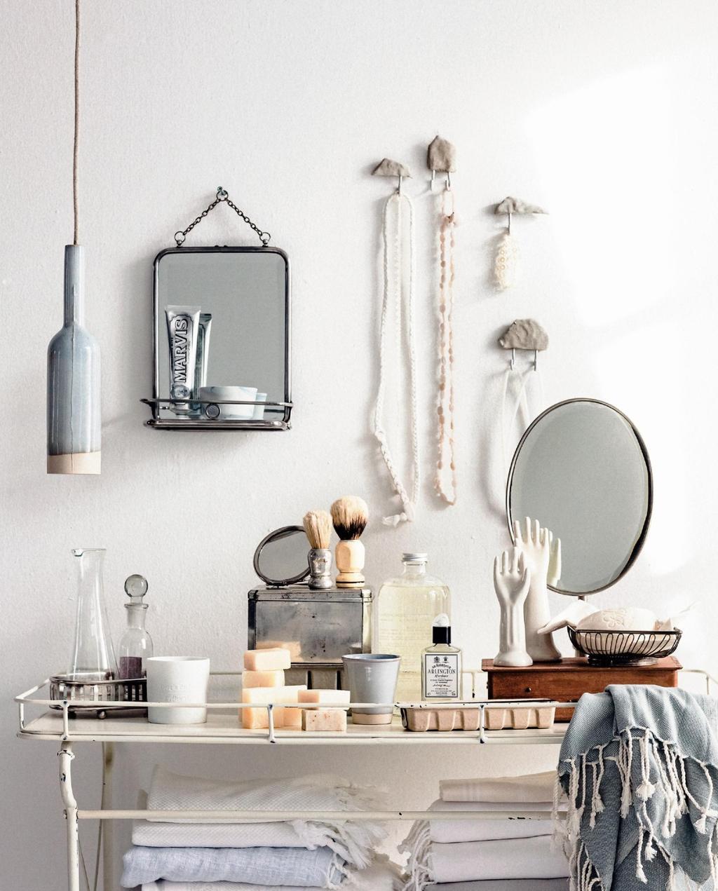 badkamer zelfmakers | diy | haakjes van klei