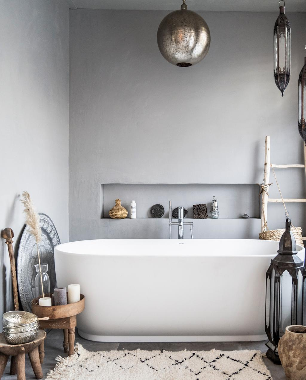 vtwonen binnenkijken special 2019 | binnenkijken in een tussenwoning in Haarlem badkamer