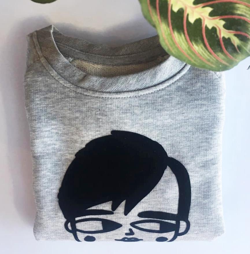 Gepersonaliseerde sweater van Nathalie van Studio Loco