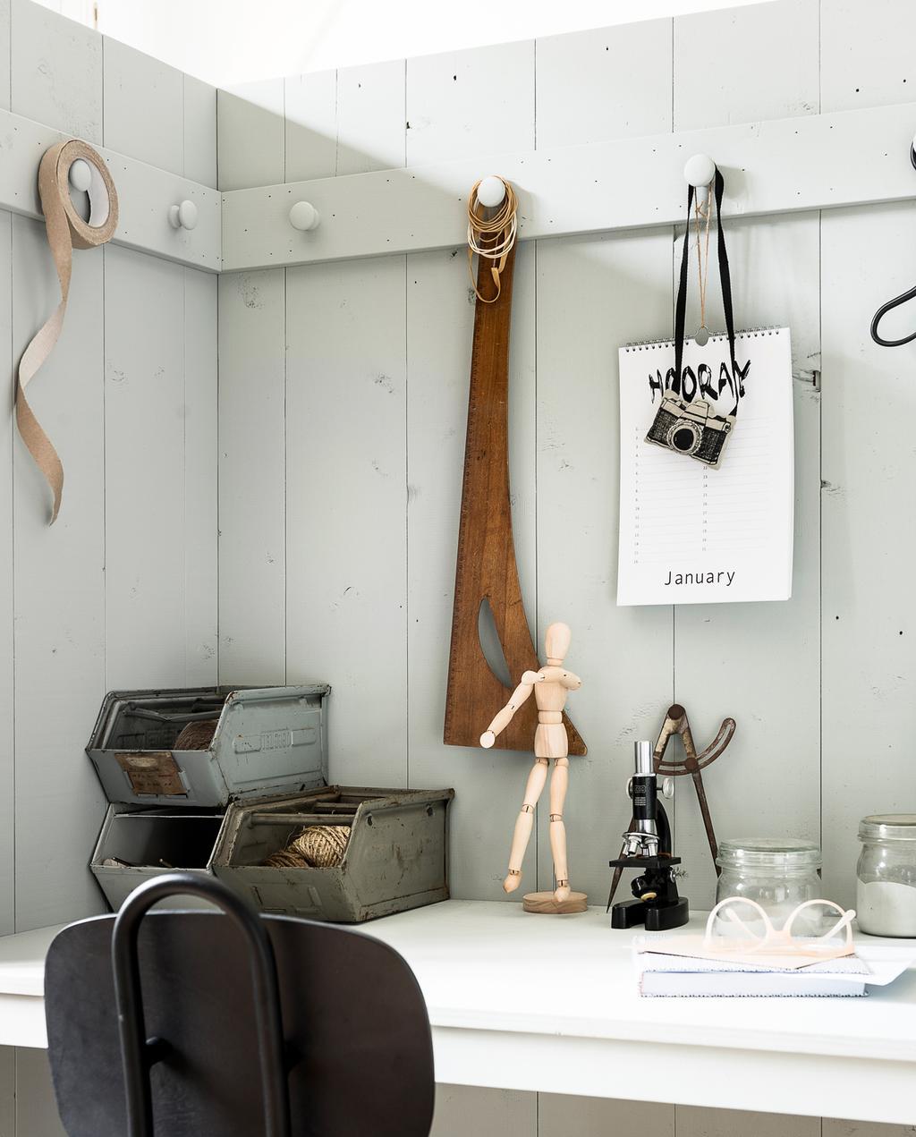 vtwonen 09-2017 | styling Kim van Rossenberg, fotografie Sjoerd Eickmans | DIY werkplek