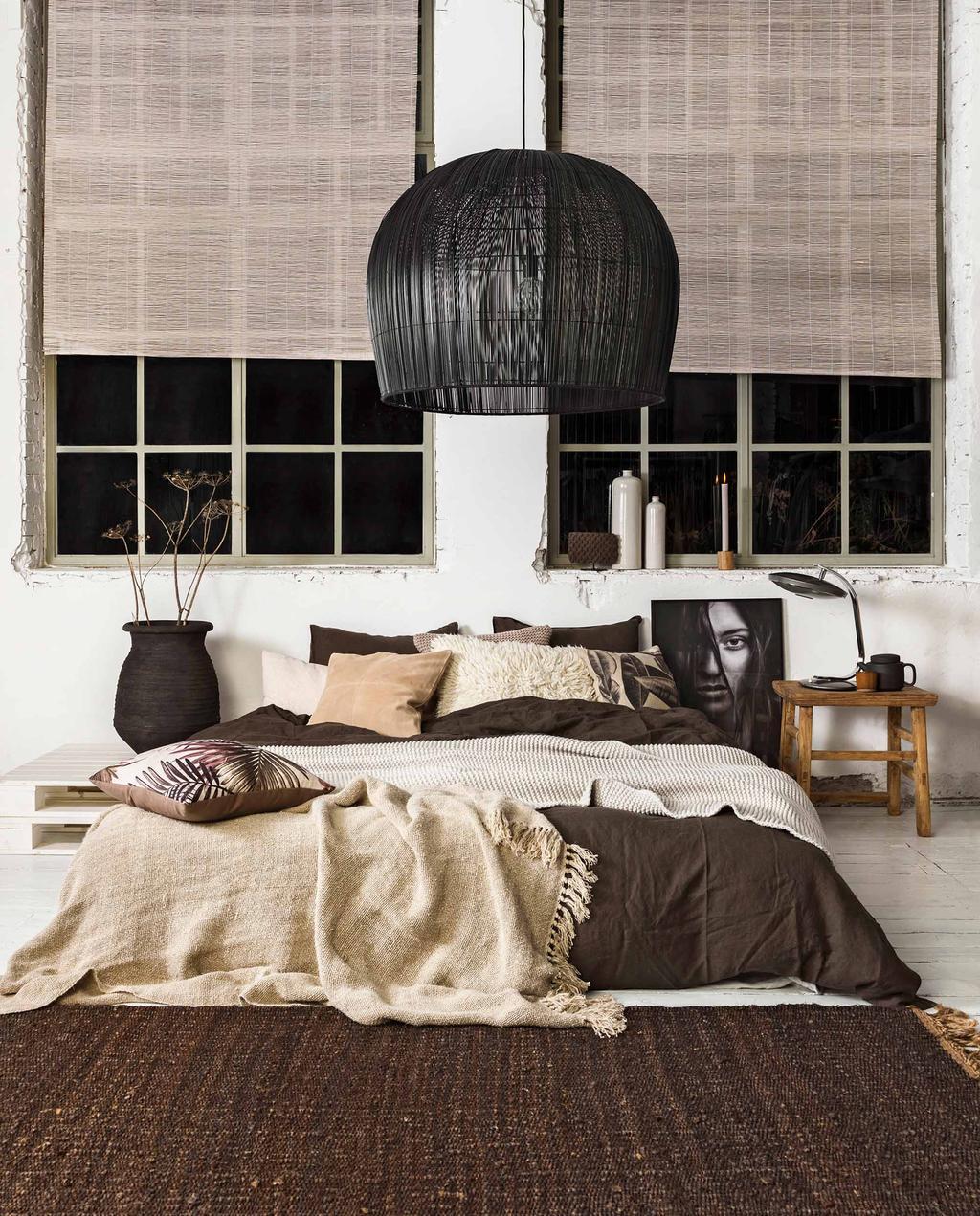 Styling natuurschoon: een natuurlijk interieur - Slaapkamer - Nr 01 2019 - vtwonen