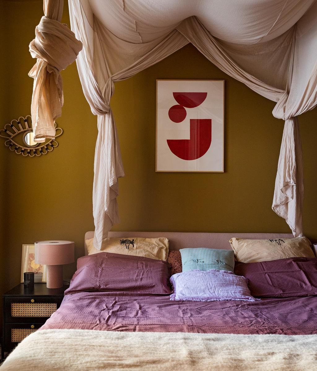 Romantische look | slaapkamer | vtwonen 11-2020