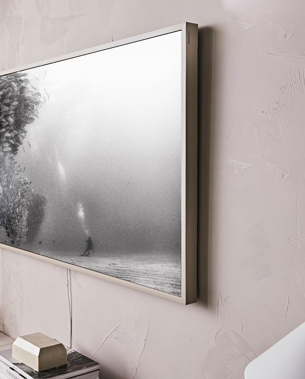 vtwonen 10-2020 | samsung the frame warm grijs neutraal interieur