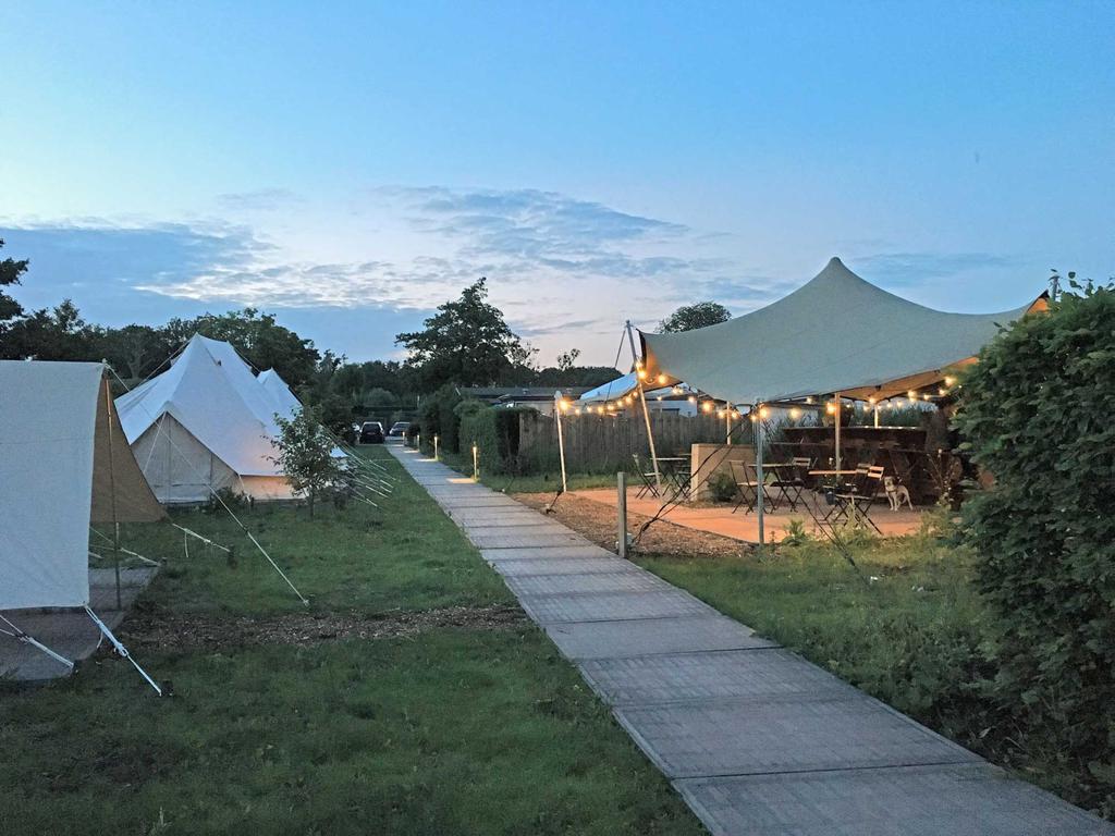 Zweier camping in Vinkeveen