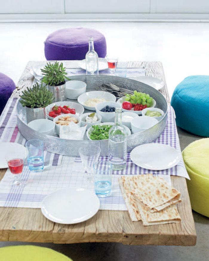 eetkamer tafel picknick