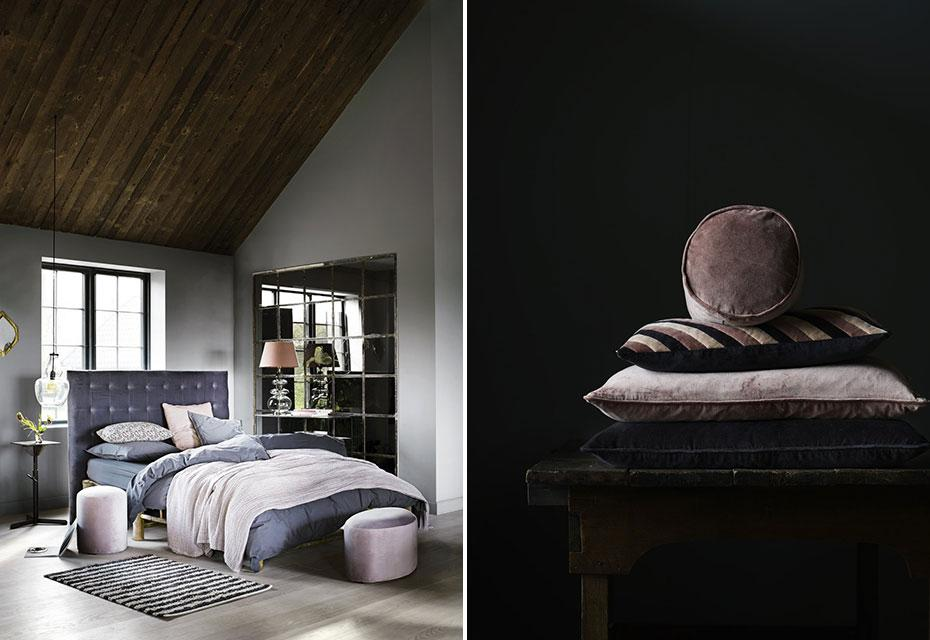 Lookbook Tine K Home Autumn/Winter 2017 - Roze - Textiel - Slaapkamer - vtwonen