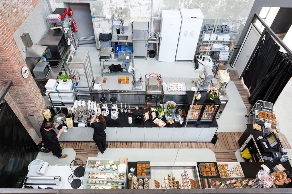 Keuken in Hal 16 in Gent