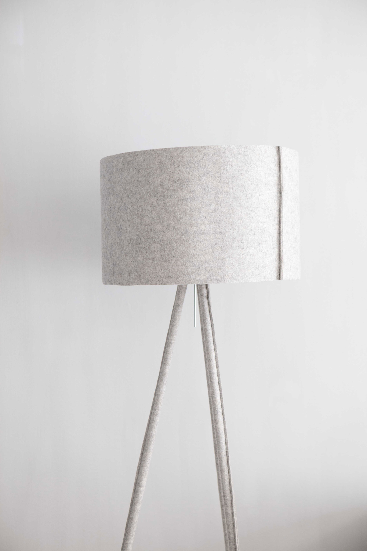 lamp met stof