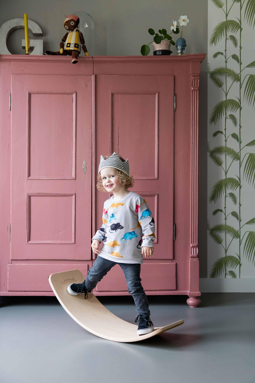 wobbel roze kast spelen kinderen