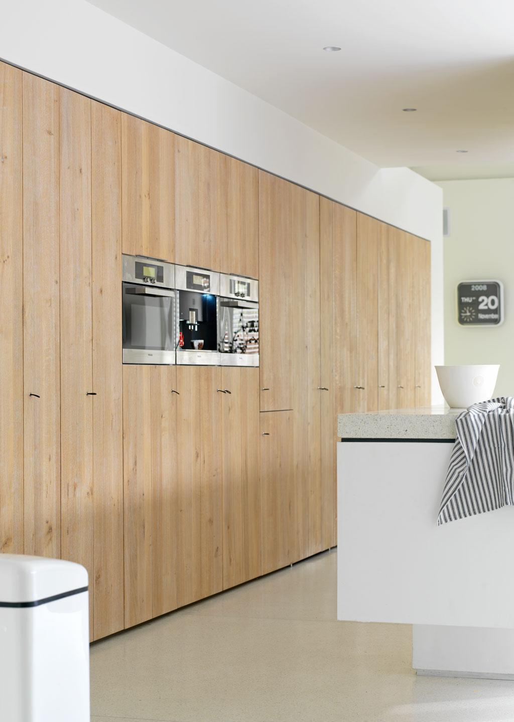 houten kastenwand