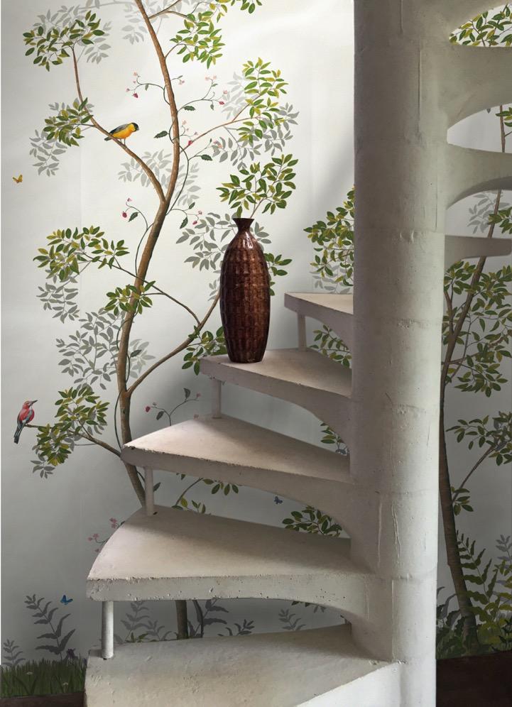 botanisch behang