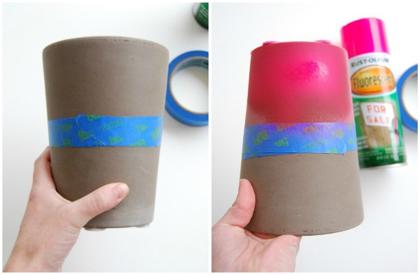 Neon potten maken