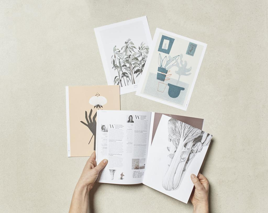 vtwonen posters - posterboek 2019