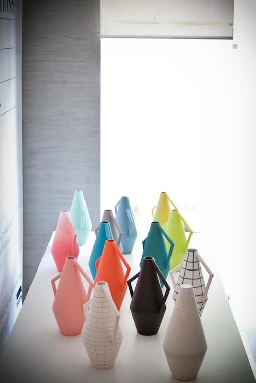 gekleurde vazen Studiopepe