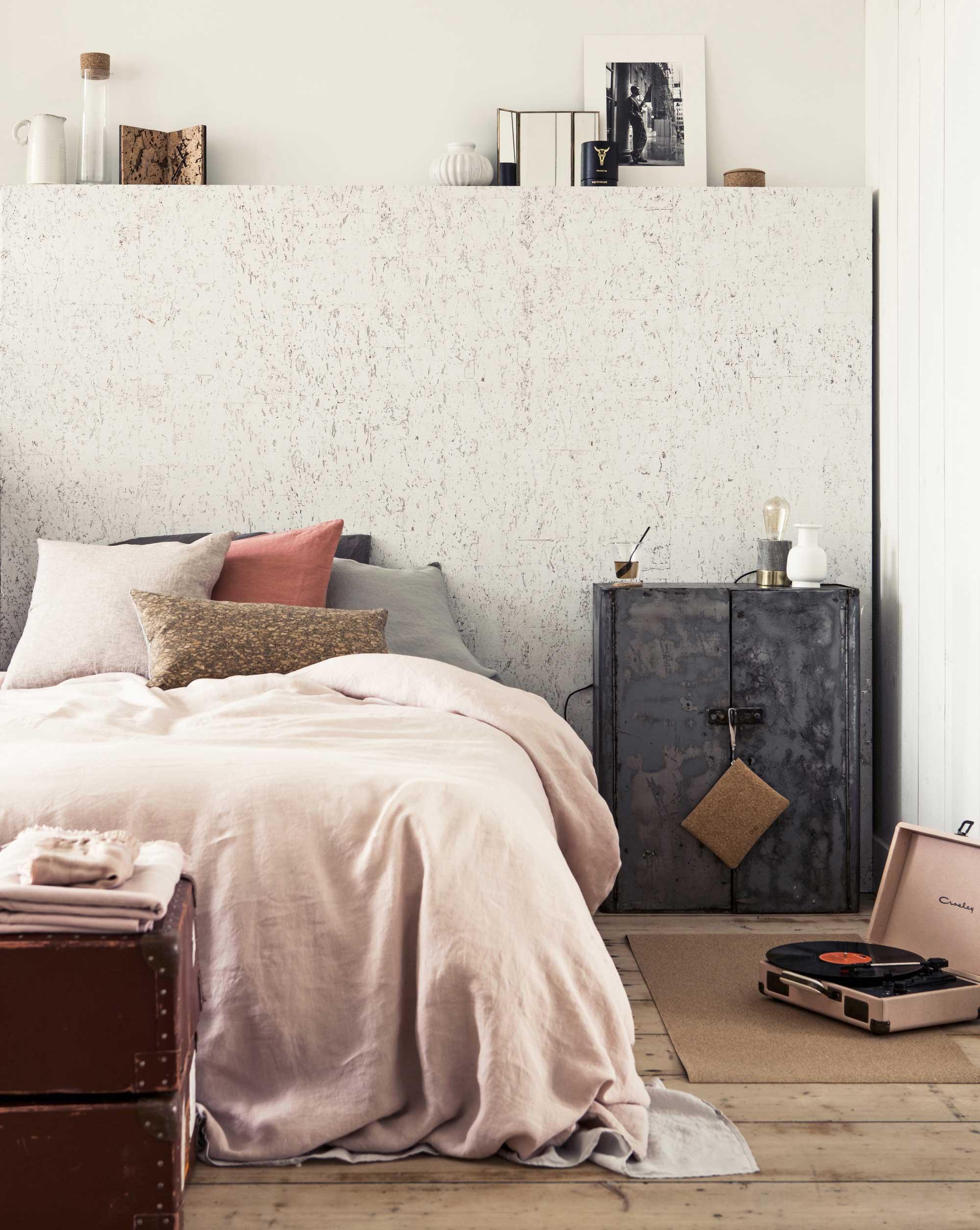 kleed-van-kurk-slaapkamer