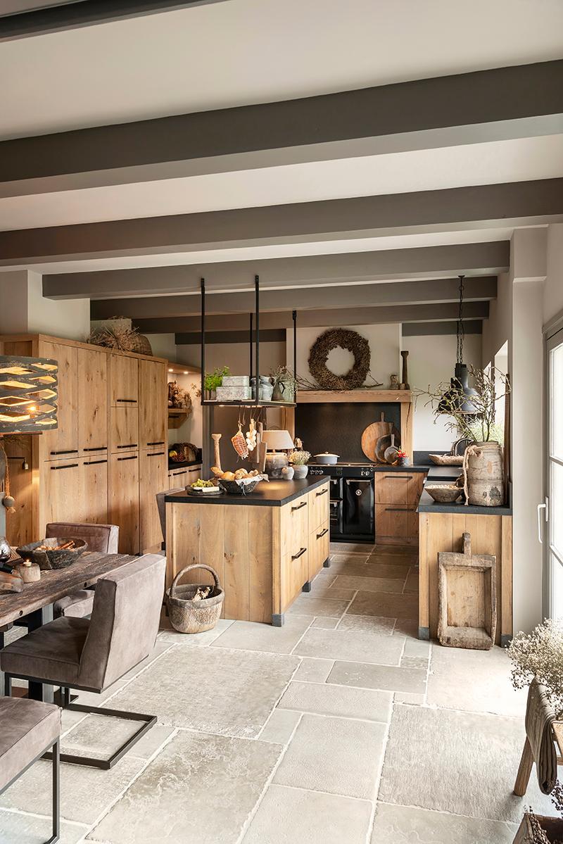 eikenhout kral keuken