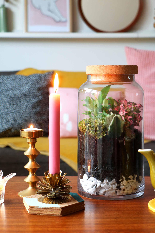 DIY-idee met groen: terrarium - Marij van My attic