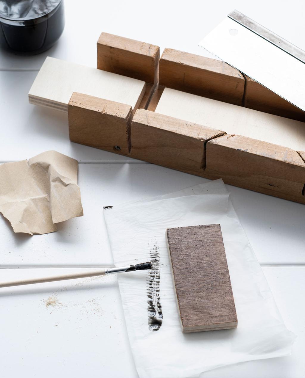 vtwonen 10-2021 | houten gordijnroede verven