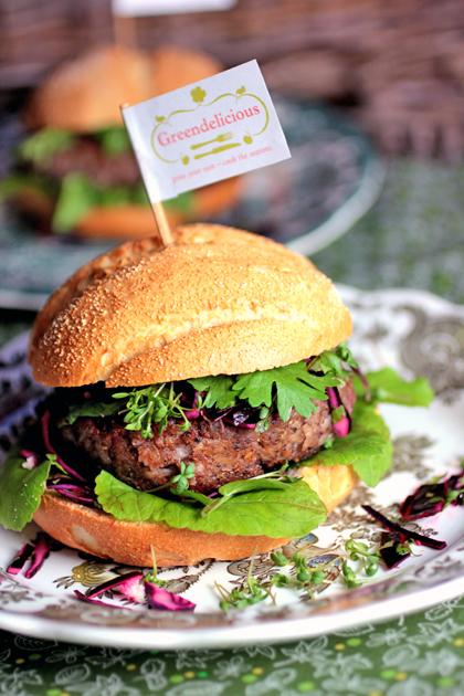 Spicy korianderburger | tuinieren.nl