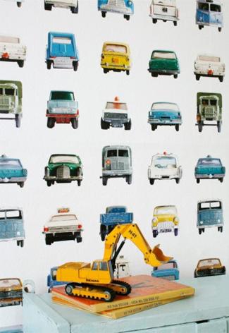 Behang auto's