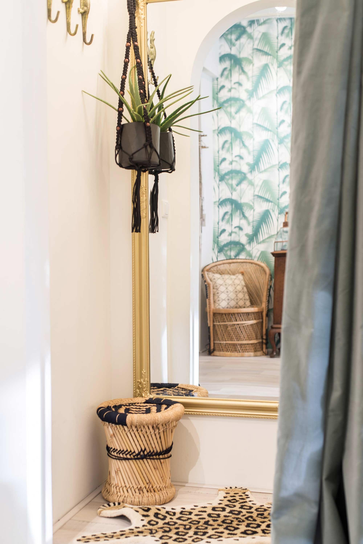 moonloft arnhem kleedkamer met hangplant