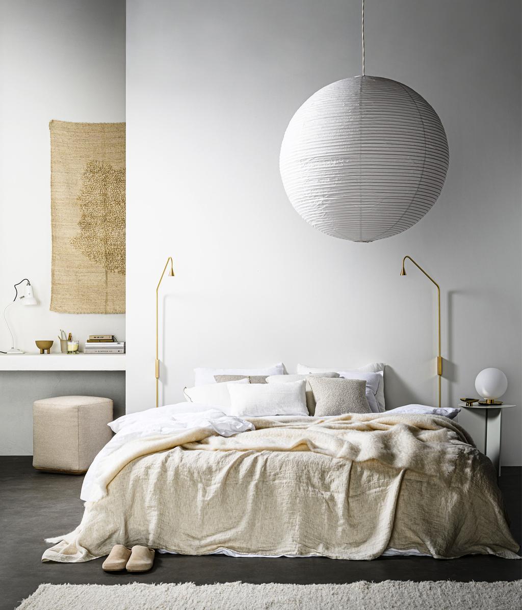 Slaapkamer lampen | verlichting | Naturel