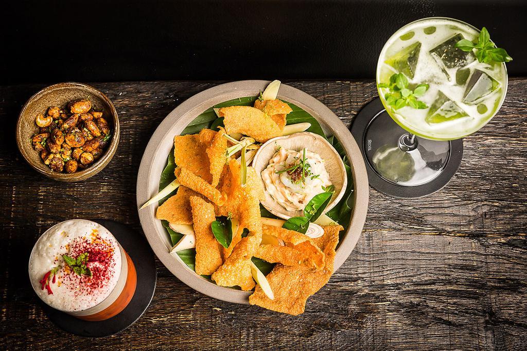 MESA in Antwerpen met sharing-gerechtjes en matching cocktails