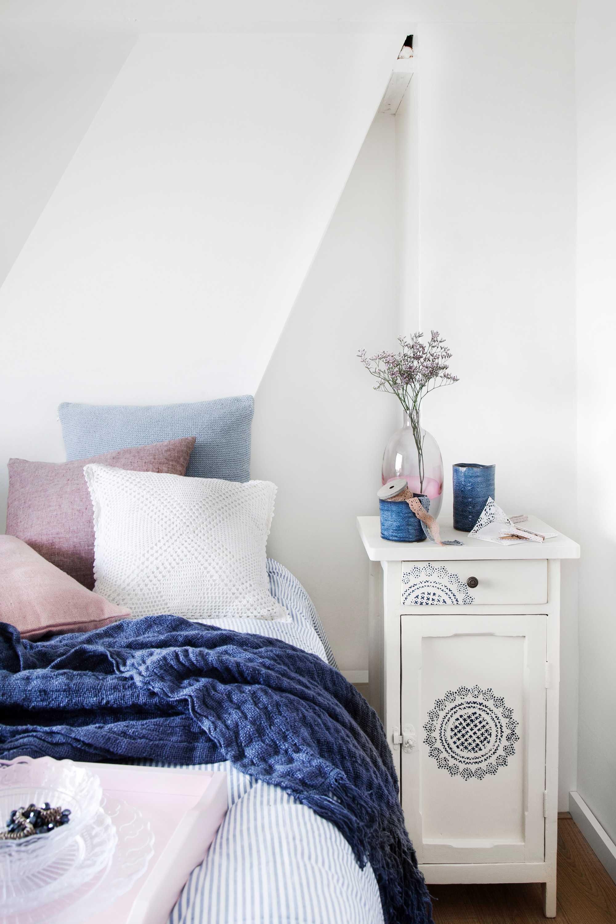 kant slaapkamer nachtkastje