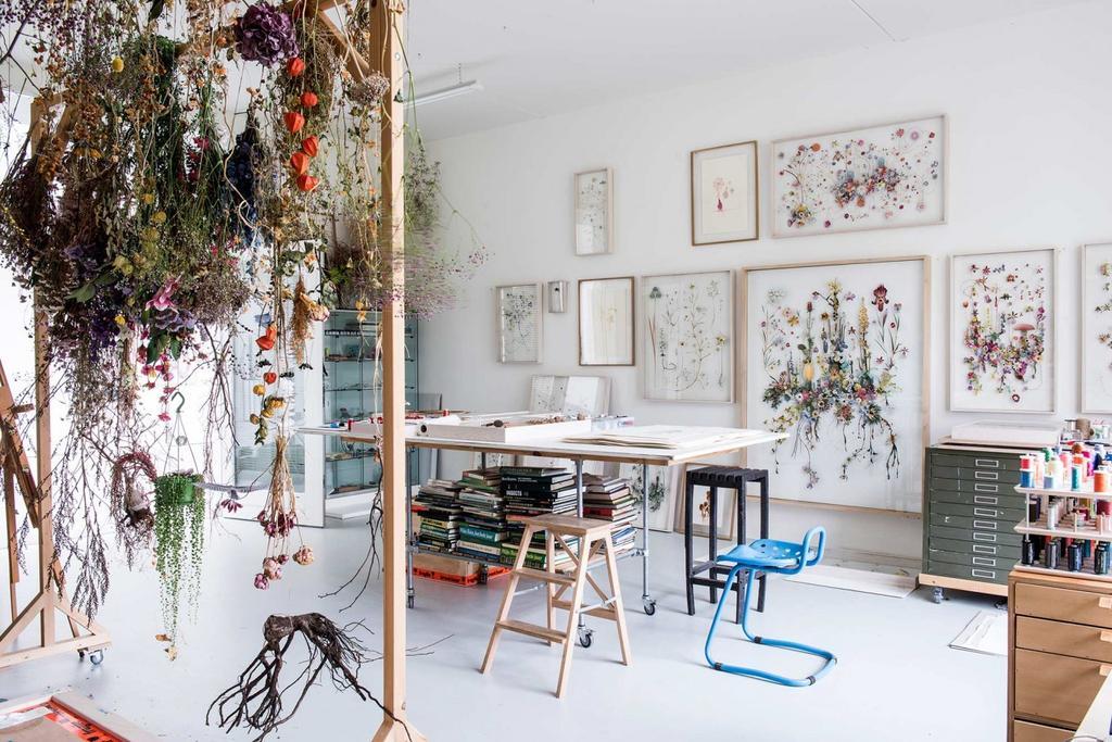 ateliers fleurs sechees