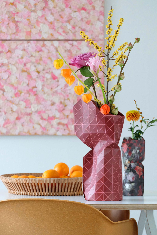 prchtg design vazen roze schilderij