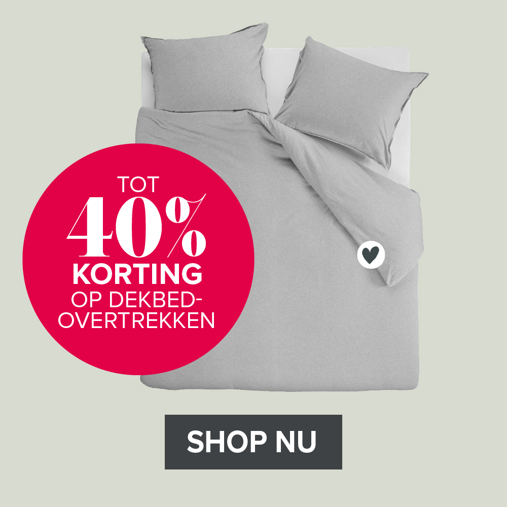 vtwonen by fonq shop 40% korting dekbedovertrek
