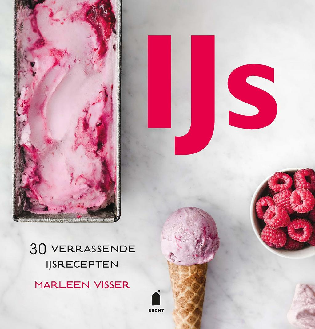 Cover van het boek IJs van Marleen Visser