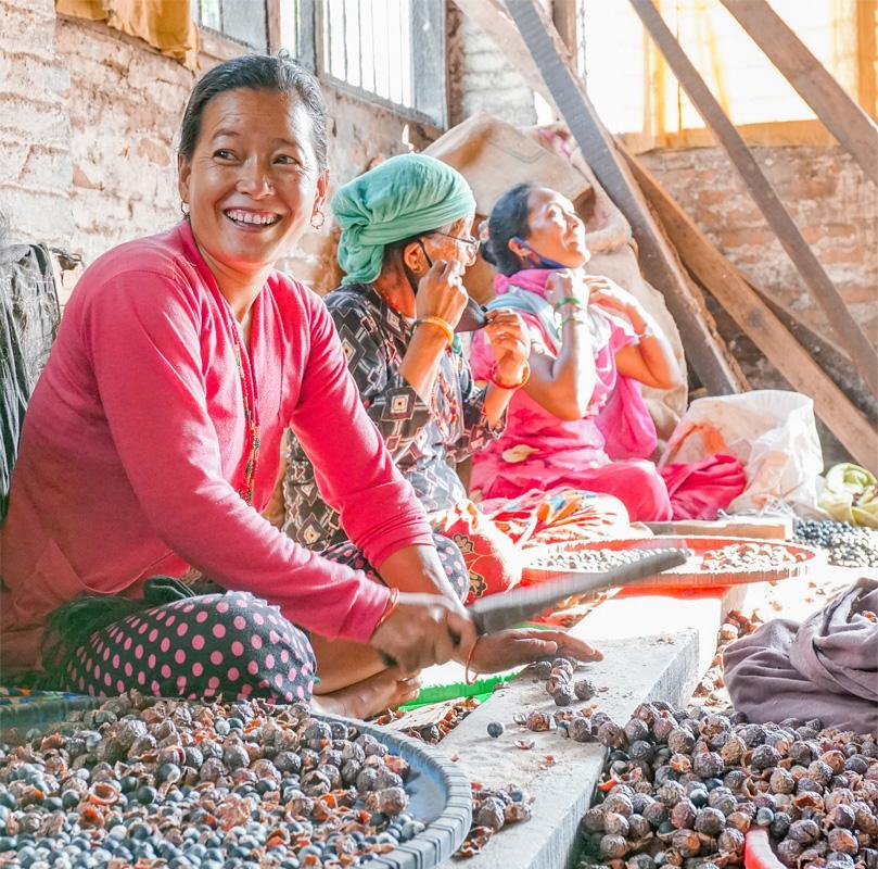 Werknemers uit Nepal voor Seepje