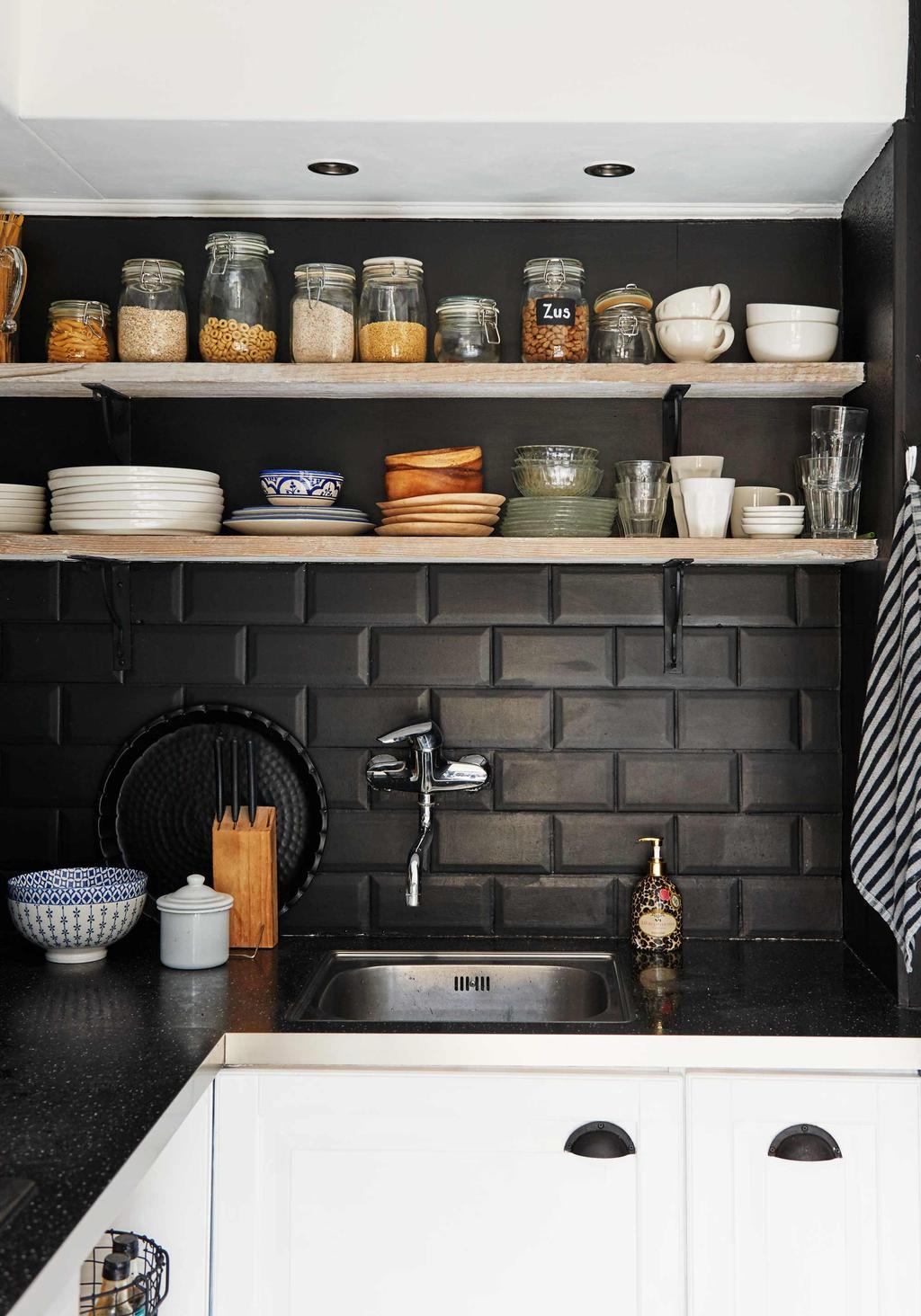 zwart-wit keuken