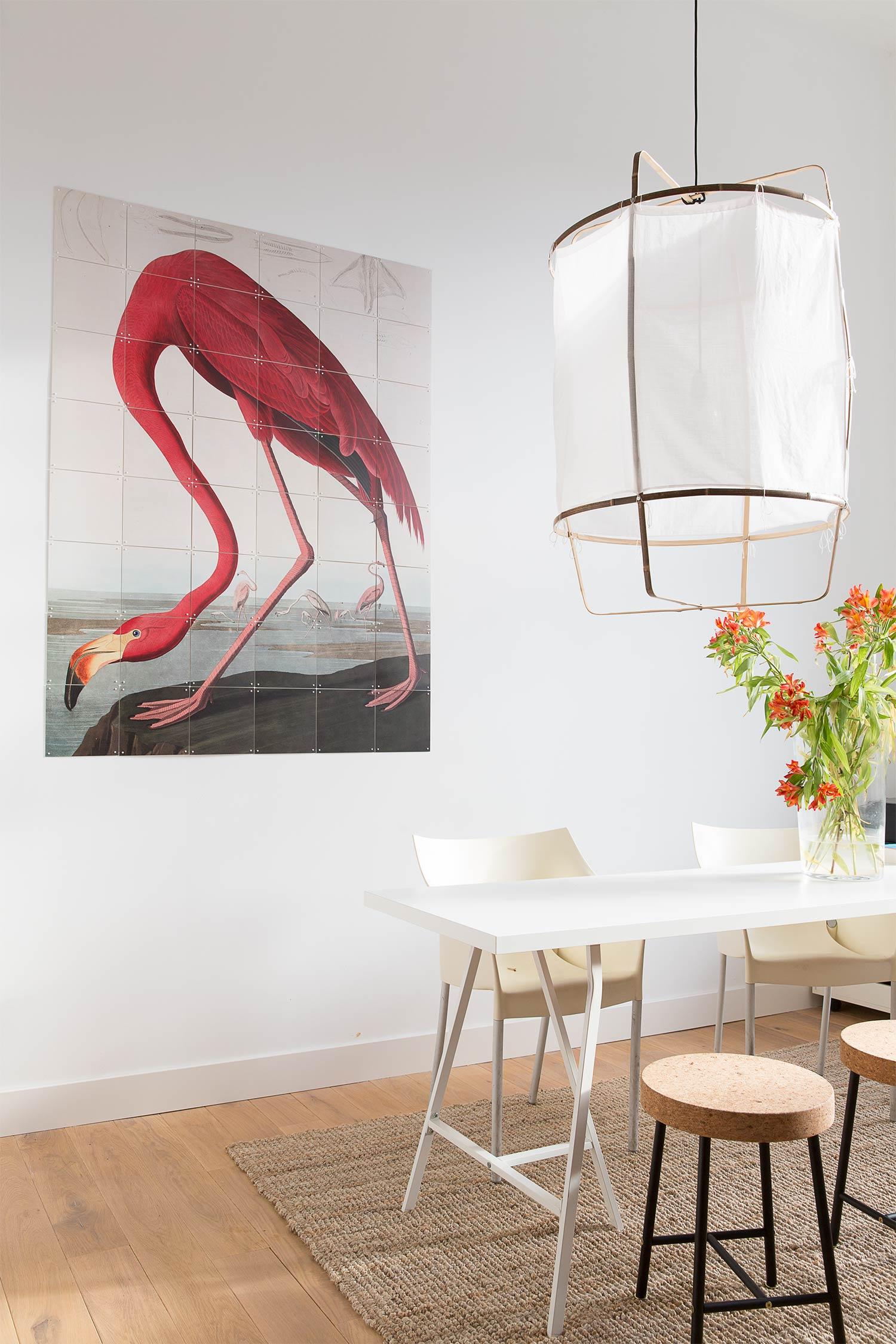 De wanddecoratie van ixxi werkt uitstekend om een persoonlijke twist aan je interieur te geven