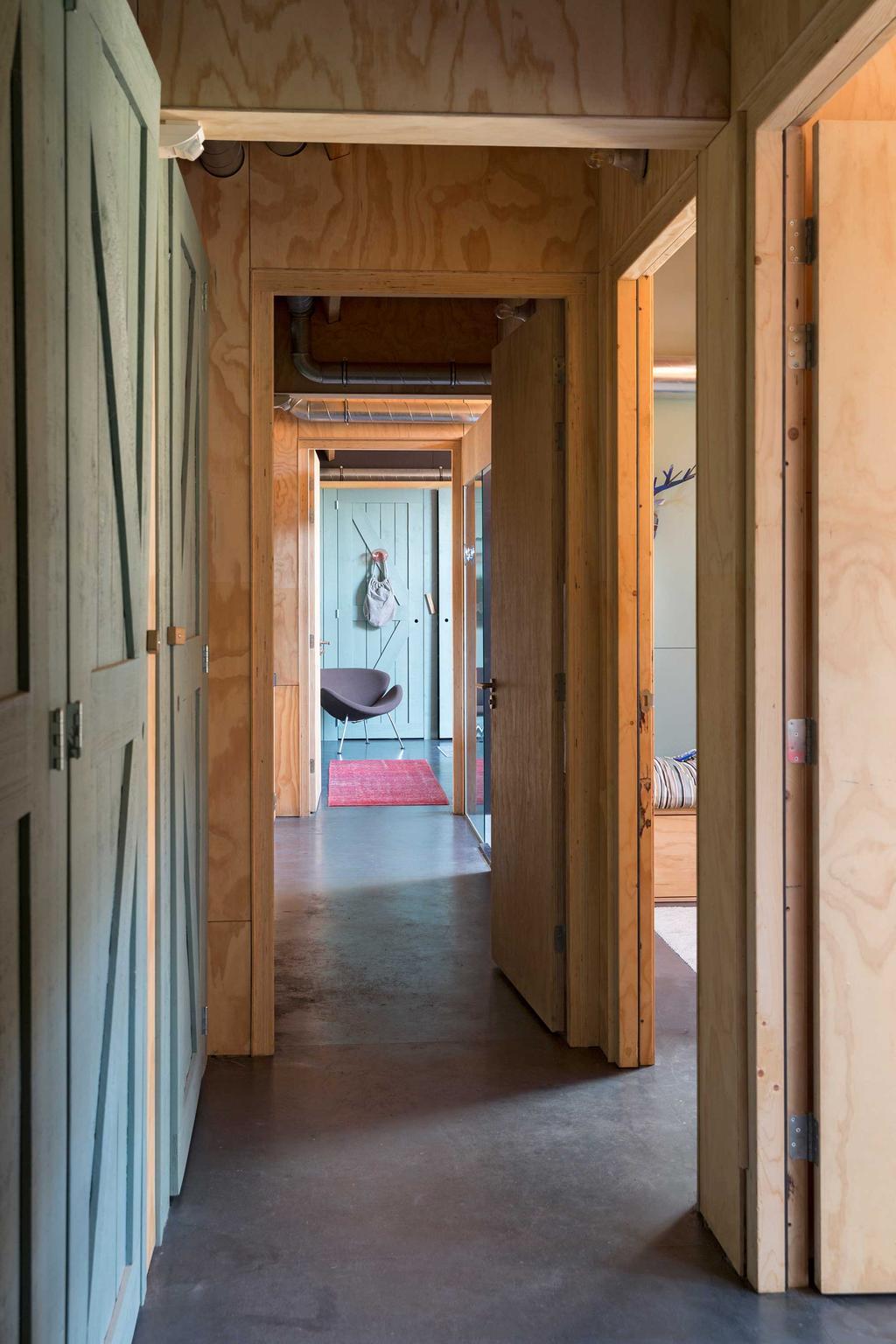 houten hal