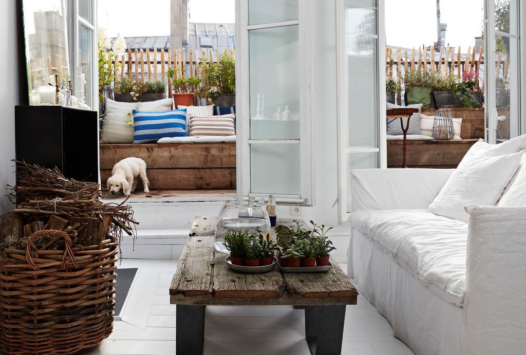Appartement met dakterras in Parijs