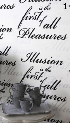 Typografisch behang