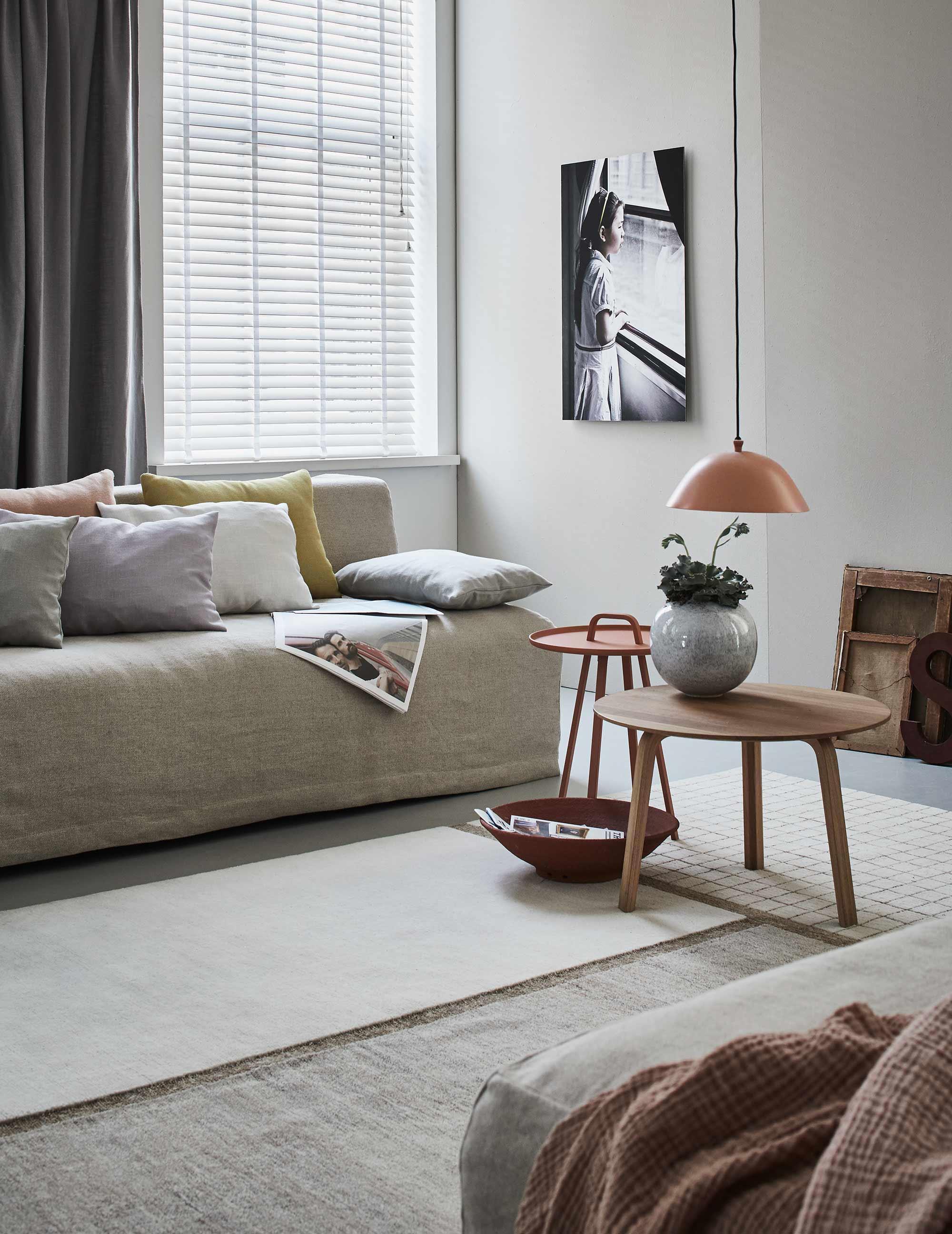 basic nude woonkamer voorjaarshuis