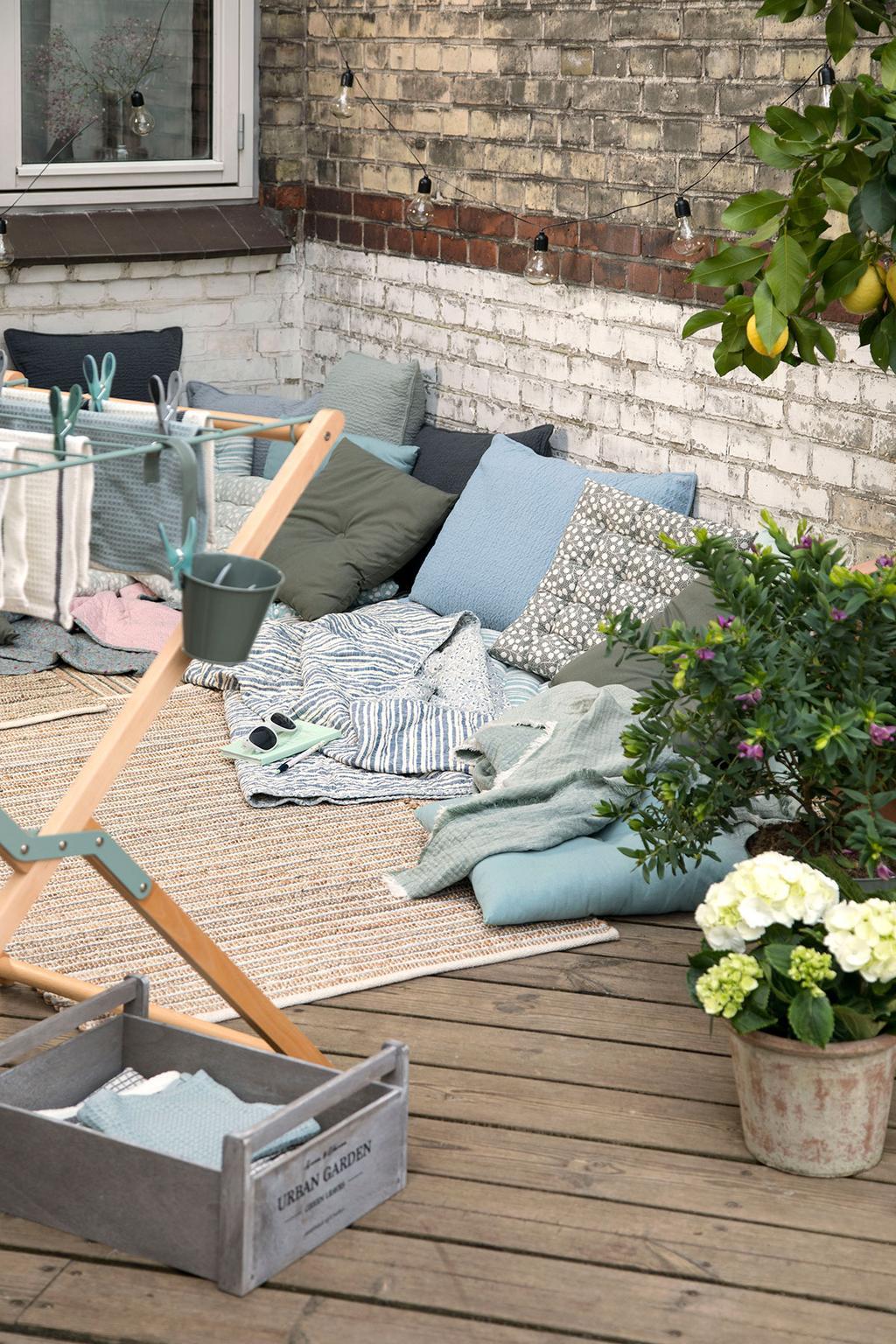 Outdoor living bij Sostrone Grene in Antwerpen