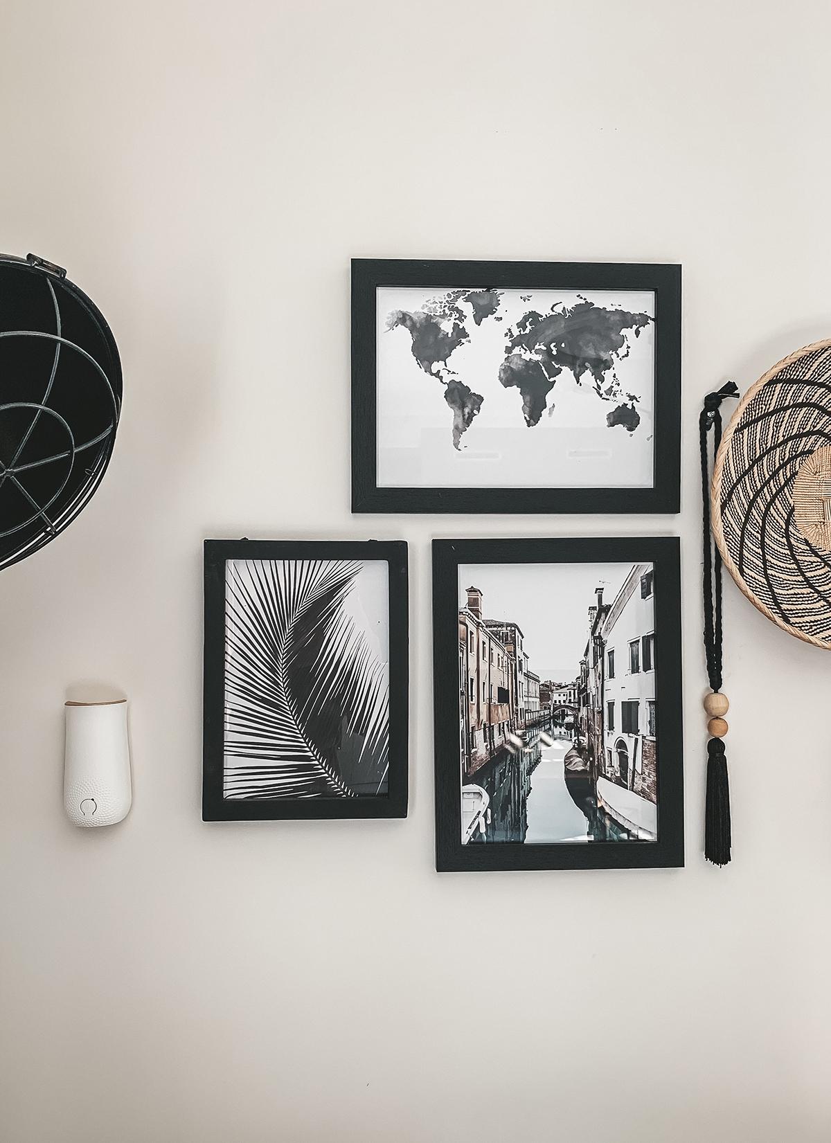 Muur schilderijen zwart wit geur herinneringen Glade Manon