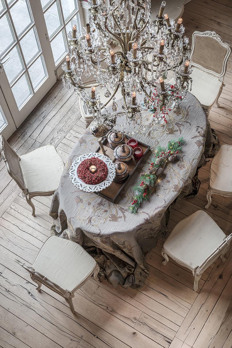 Vlaamse kerst in Engelse stijl - Wonen Landelijke Stijl