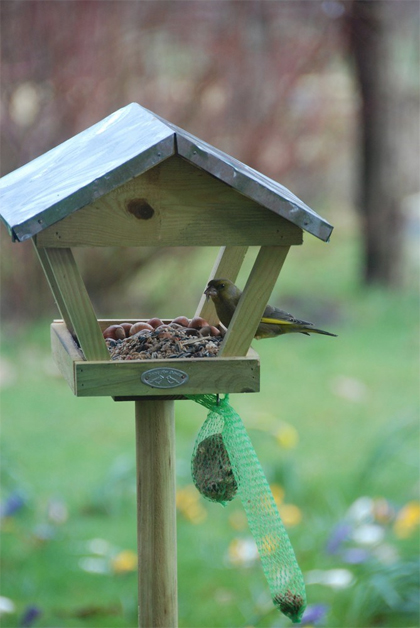 voedertafel voor vogels
