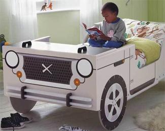 bouwtekening cars bed